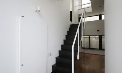 ハコノオウチ04 2.5世帯住宅 (階段吹抜)