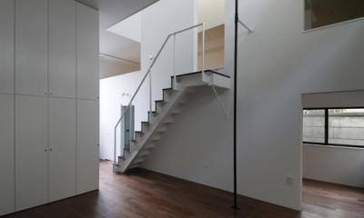 ハコノオウチ04 2.5世帯住宅 (天井の高いリビング)