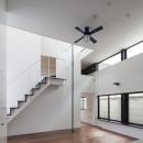 ハコノオウチ04 2.5世帯住宅の写真 階段横には登り棒