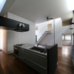 ハコノオウチ04 2.5世帯住宅 (キッチン)