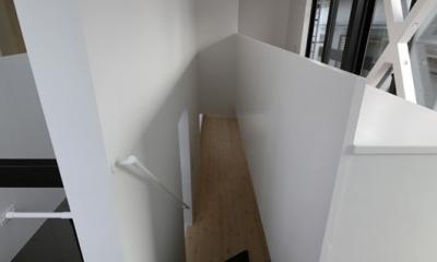 ハコノオウチ04 2.5世帯住宅 (階段)