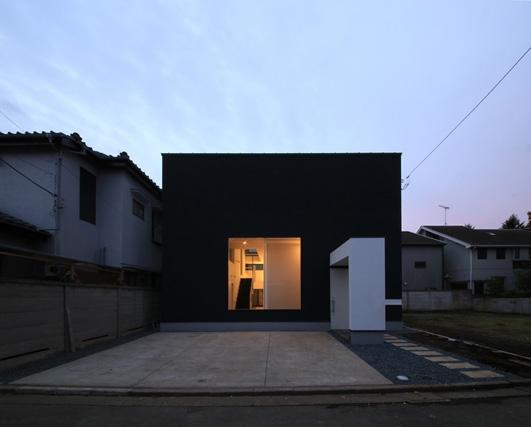 ハコノオウチ04 2.5世帯住宅の写真 夜景外観