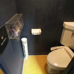 可動本棚の家 (トイレ)