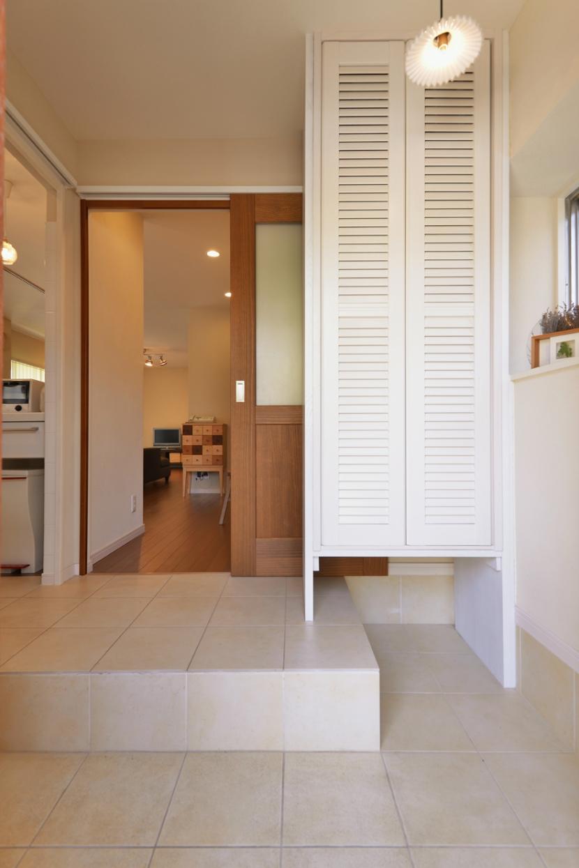 子供が走り回る家の部屋 主婦に嬉しい、玄関→キッチンへの動線