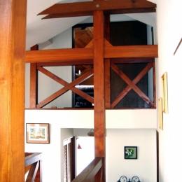 COPPER-HOUSE-1 (2階から中階、ロフト方向)