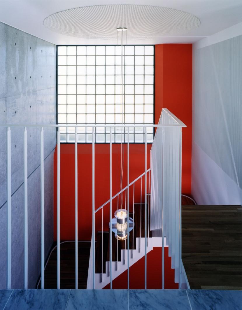 長津田Yハウス(*)の部屋 階段(1階-地下1階)