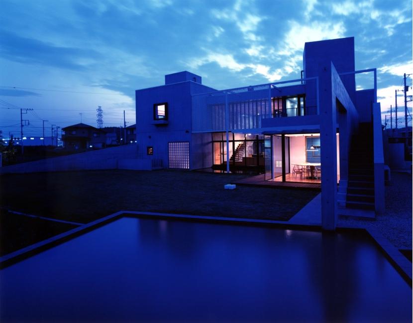 長津田Yハウス(*)の部屋 東側夜景