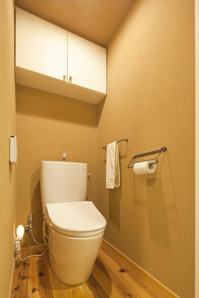 トイレ (体で感じる、自然素材の住まい)