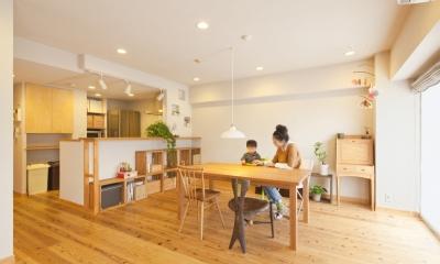 東京都新宿区I様邸 ~体で感じる自然素材の住まい~