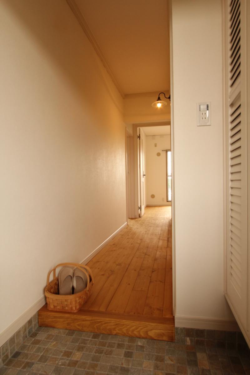 築30年の団地リノベーションの部屋 玄関