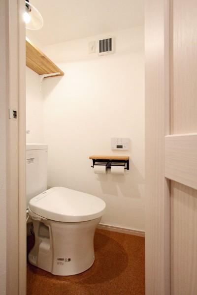 トイレ (横浜市T様邸 ~築30年の団地リノベーション~)