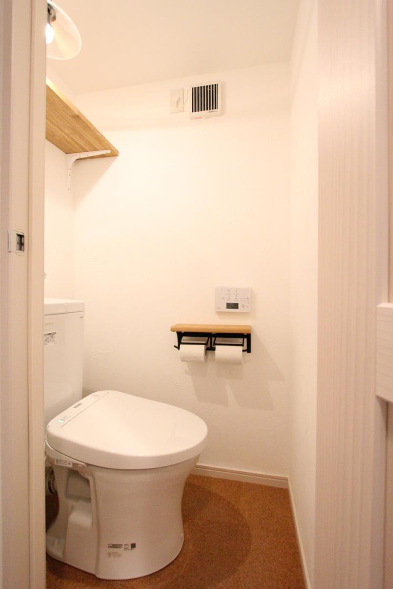 築30年の団地リノベーションの部屋 トイレ