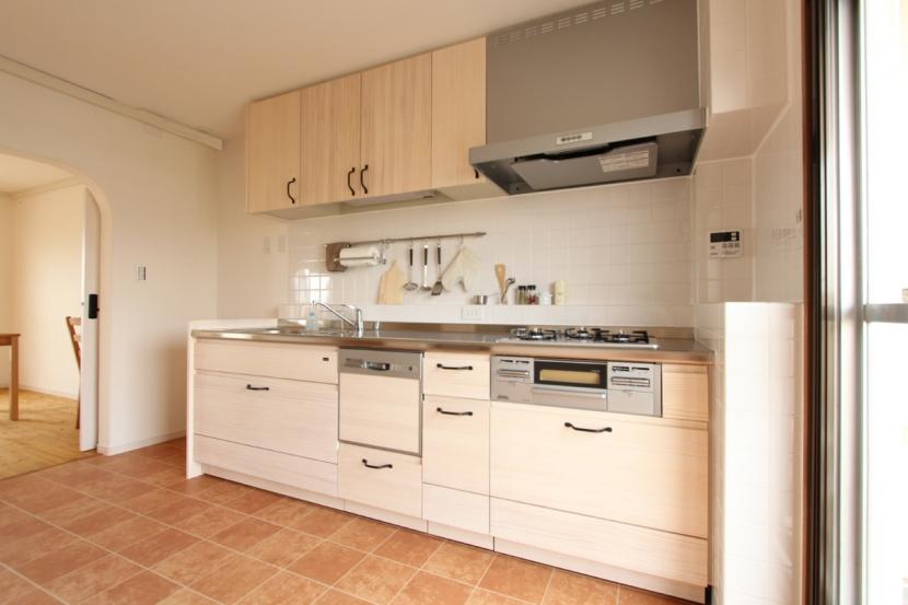 築30年の団地リノベーションの部屋 キッチン