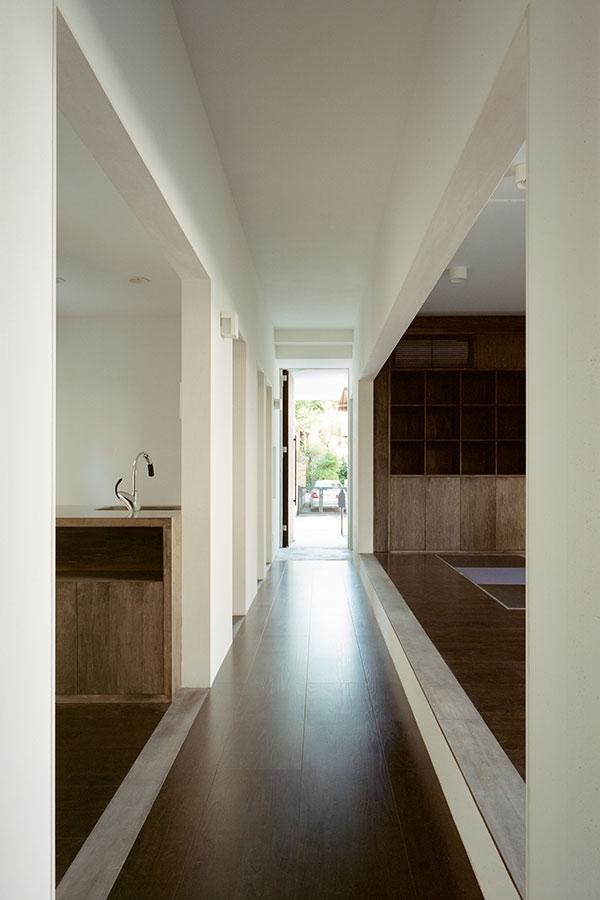 HouseKの部屋 通路
