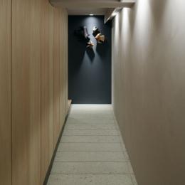 ウチソトの間合-玄関
