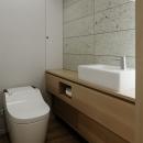 青木律典|デザインライフ設計室の住宅事例「ウチソトの間合」