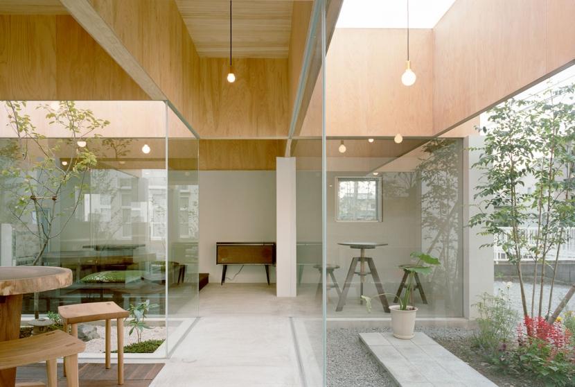 テーブルハットの写真 カフェスペース
