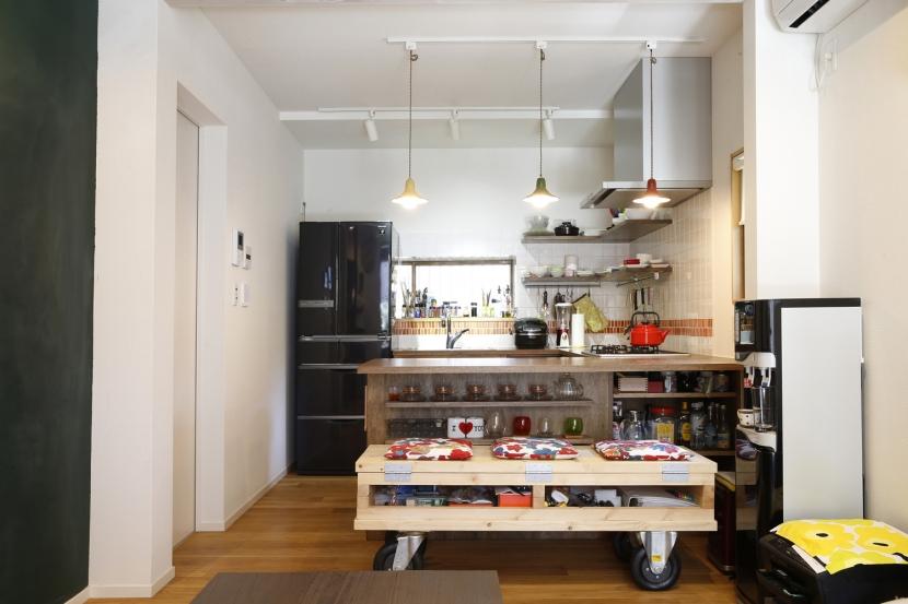 キッチン (Y邸・できることは自分たちで。コラボで作り上げた快適な住まい)