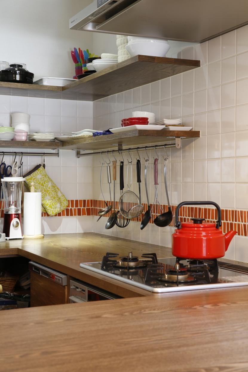 Y邸・できることは自分たちで。コラボで作り上げた快適な住まいの部屋 キッチン