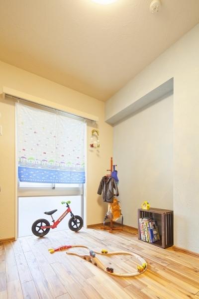 男の子がわくわくする子供部屋 (横浜市W様邸 ~ナチュラルリノベーションでヴィンテージ家具を楽しむ住まい~)