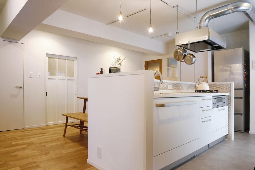 I邸・築34年マンションの劇的リノベーション!の部屋 キッチン