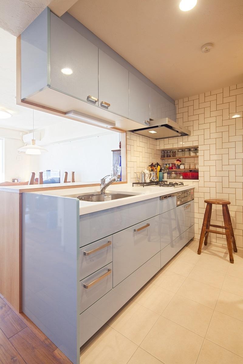 夢工房「横浜市W様邸 ~ナチュラルリノベーションでヴィンテージ家具を楽しむ住まい~」