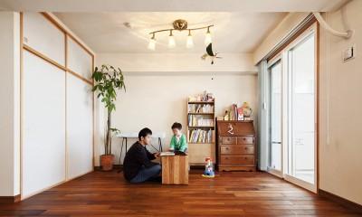 横浜市W様邸 ~ナチュラルリノベーションでヴィンテージ家具を楽しむ住まい~