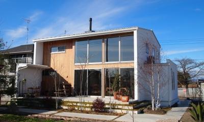 土間リビングの家|A house