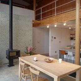群馬県邑楽町・土間リビングの家|A house (土間リビング・キッチン)