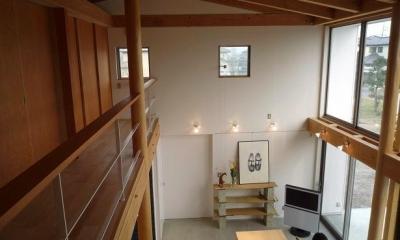 群馬県邑楽町・土間リビングの家|A house