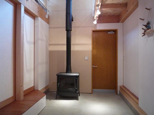 群馬県館林市・ガレージとソト土間のある家|Beetle Houseの部屋 ウチ土間空間