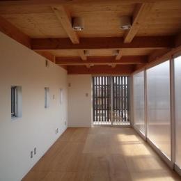 群馬県館林市・ソラを取り込んだ住まい|空の家