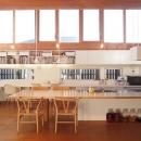 小磯一雄|KAZ建築研究室の住宅事例「群馬県館林市・ソラを取り込んだ住まい|空の家」