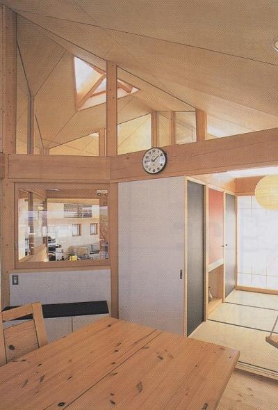 小さなタタミルーム (千葉県成田市・多目的な土間空間のある家|NAK HOUSE)
