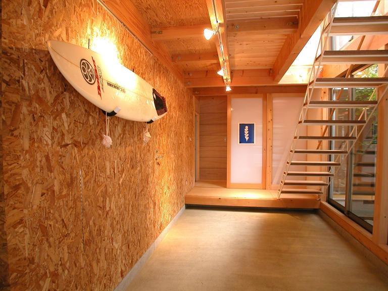 埼玉県入間市・大きなもみじのある家|波乗り亭の部屋 多目的な土間空間