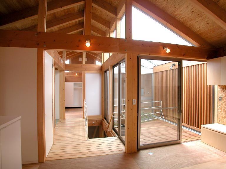 埼玉県入間市・大きなもみじのある家|波乗り亭の部屋 2階リビングからの風景