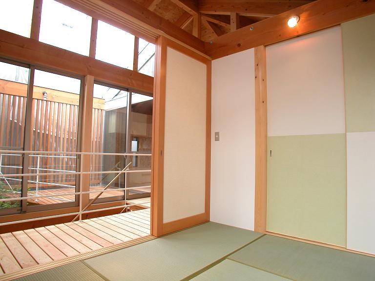 埼玉県入間市・大きなもみじのある家|波乗り亭の部屋 タタミルーム