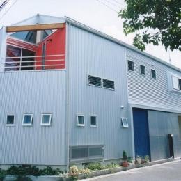 埼玉県羽生市・30坪の敷地に建つ6人家族の家|かなちゃんち (二方向道路の敷地に建つ家)