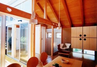 2階リビング (ソトを取り込んで暮らす家|かなちゃんち)