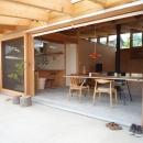 小磯一雄|KAZ建築研究室の住宅事例「群馬県太田市・芝屋根住宅-1|mat house」