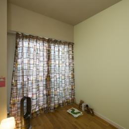横浜市B様邸 ~自然素材とお気に入りの色に囲まれた住まい~ (使用するのが楽しみな、自然素材の部屋)