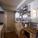 シンプル設計で、使いやすいキッチンに。