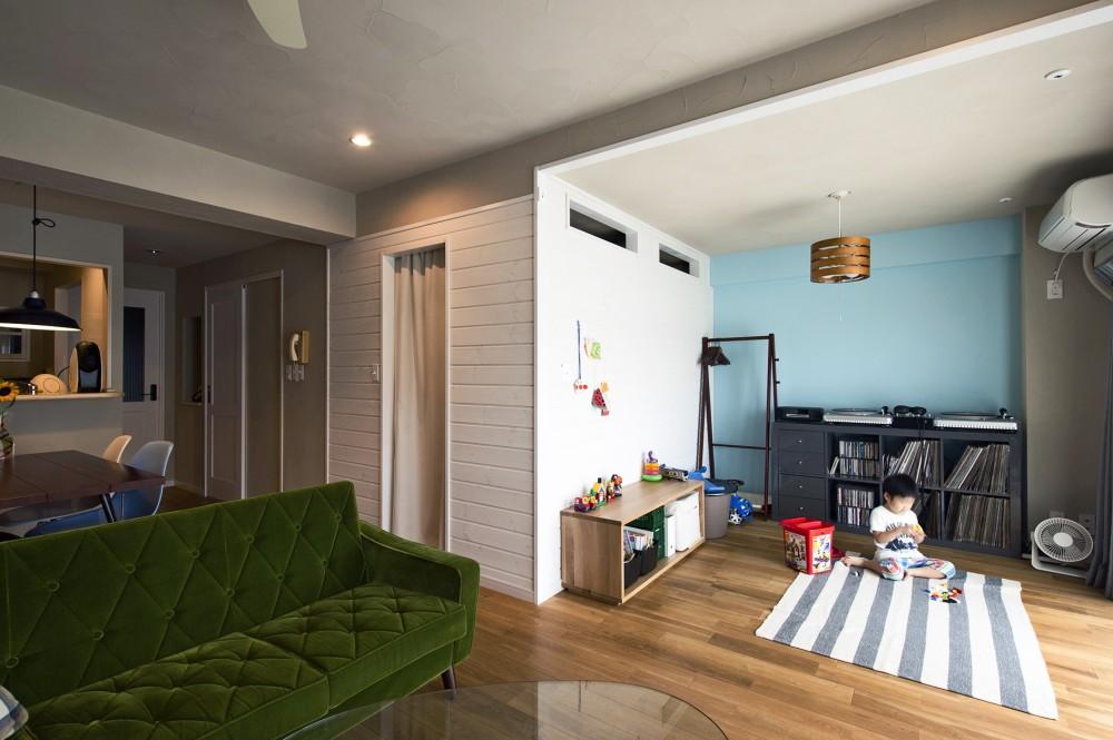 夢工房「横浜市B様邸 ~自然素材とお気に入りの色に囲まれた住まい~」