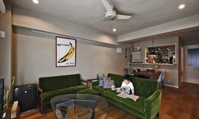 横浜市B様邸 ~自然素材とお気に入りの色に囲まれた住まい~