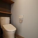 K邸・音楽室のある光あふれる小さなお家の写真 トイレ