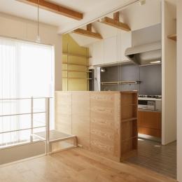 ダイニングキッチン (K邸・音楽室のある光あふれる小さなお家)