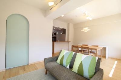 川崎市F様邸 ~収納計画にこだわった北欧スタイルの家~ (リビングの一角にWIC)