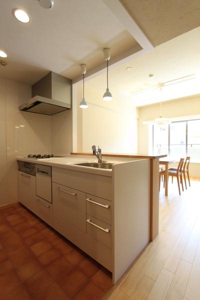 川崎市F様邸 ~収納計画にこだわった北欧スタイルの家~ (ほっこりキッチン)