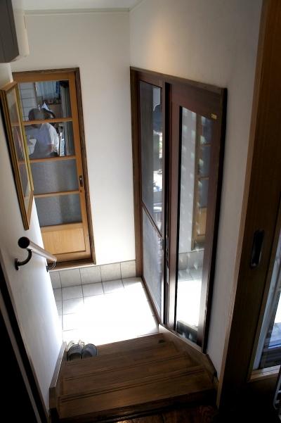 諏訪の住宅改修 (玄関)