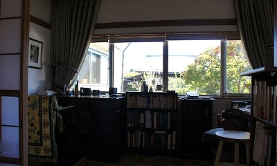 諏訪の住宅改修 (書斎)